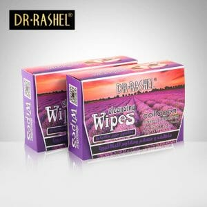 Dr.Rashel Collagen Make Up Cleansing Wipes With Lavender Extract